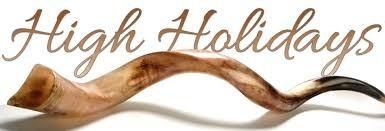 high holidays shofar